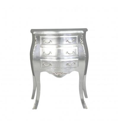 Небольшой серебряный барокко комод