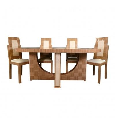 Táblázat art deco - Art deco asztal