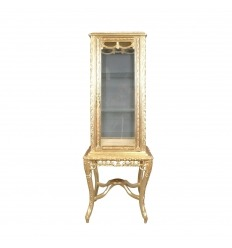 Golden baroque display case