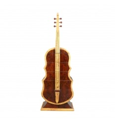 Bekväm Art deco gitarr rosenträ