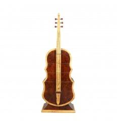Kényelmes Art deco gitár rózsafa