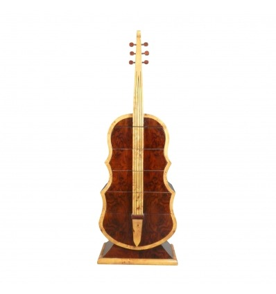Art Deco Palisander Gitarrentruhe - Art Deco Kommode
