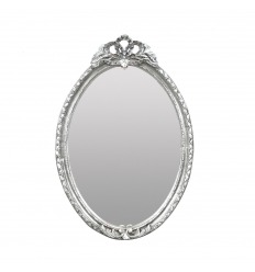 Silver barock spegel