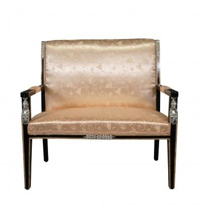 Sofá de caoba Empire - muebles de estilo imperio -