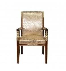 Кресло империи махагон экранной лупы