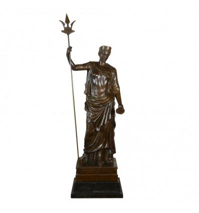 Scultura in bronzo della dea Hera - Statue greche -