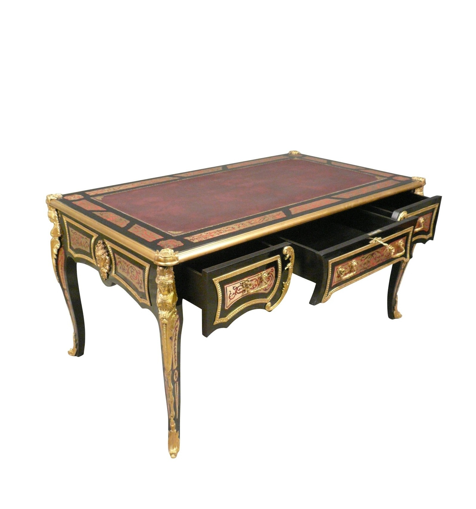 bureau louis xv boulle meubles de style et art d co. Black Bedroom Furniture Sets. Home Design Ideas