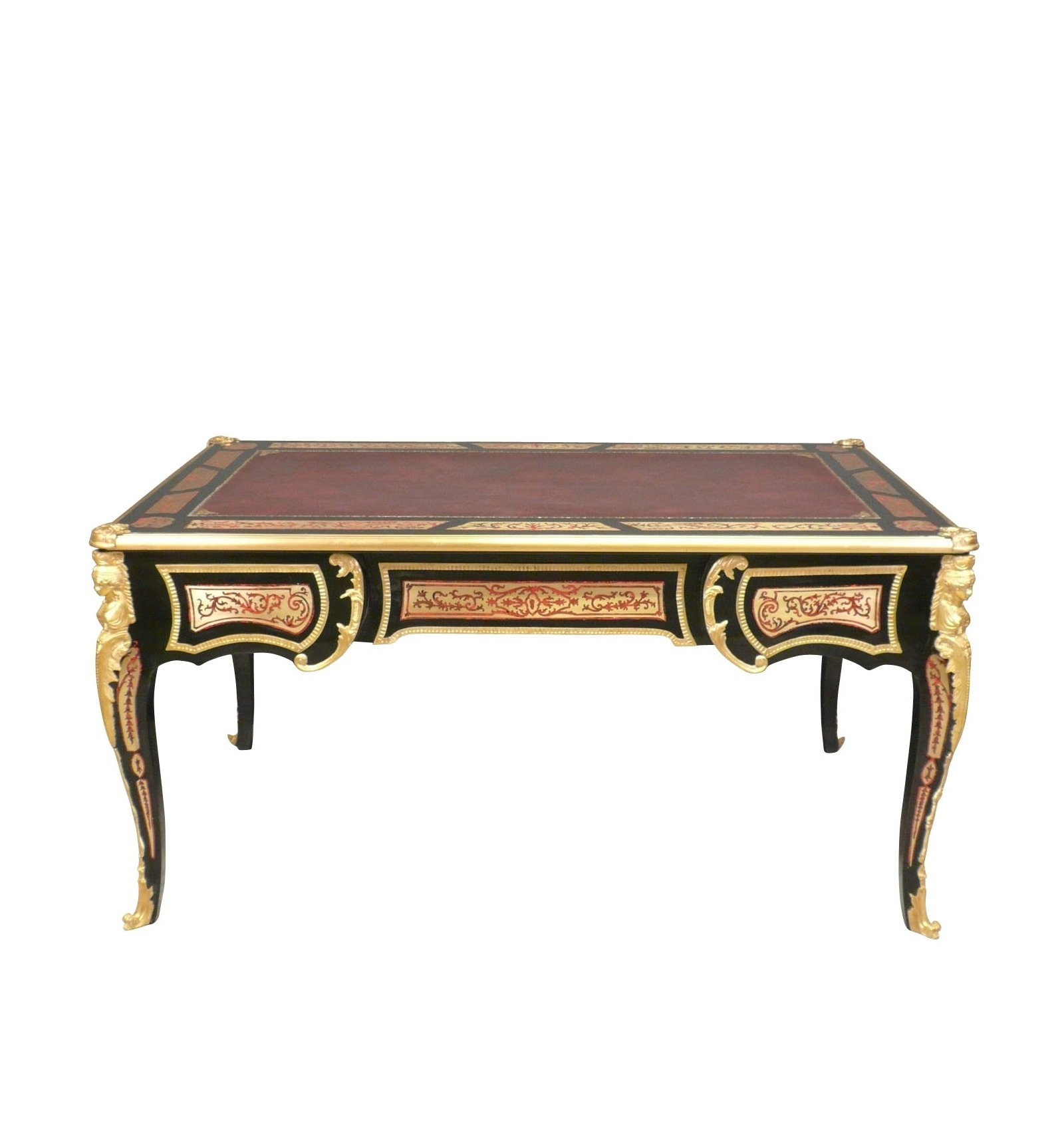 Desk Louis XV Boulle - style Furniture and art deco