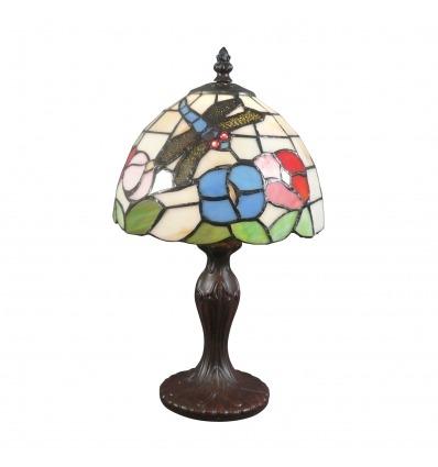 Pequeña Lámpara Tiffany Valencia - Lámparas de cristal