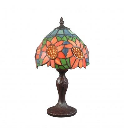 Girasole di lampada Tiffany