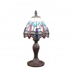 Small dragonfly Tiffany lamp