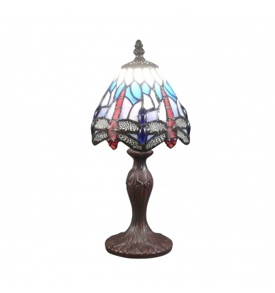 Malé lampy Tiffany vážka