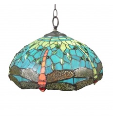 Tiffany Ceiling Pendant Light Montpellier -  Tiffany Lamps shop