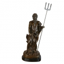 Bronzestatue von Poseidon - Skulpturen auf Mythologie -