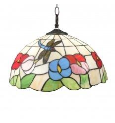 Lámpara Tiffany de techo Valencia
