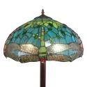 Lampadaire Tiffany Montpellier - Lampes en vitrail Tiffany