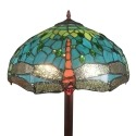 Lampadaire Tiffany Montpellier - Lampes de style Tiffany