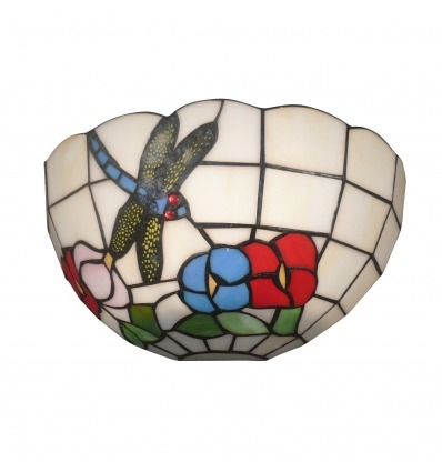 Lámpara de pared Tiffany Nice - Tiffany vidrieras de colores -