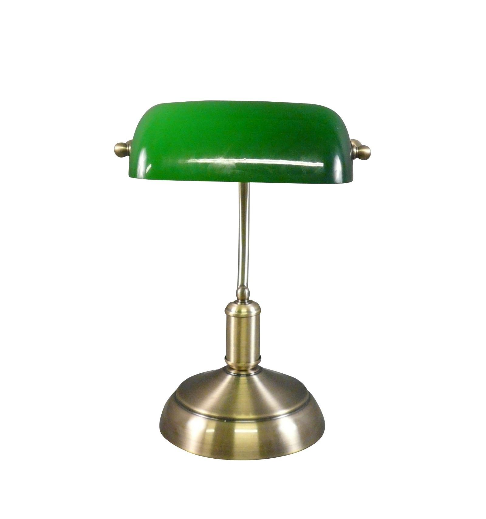 lampe tiffany de banquier ou de bureau lampes tiffany. Black Bedroom Furniture Sets. Home Design Ideas
