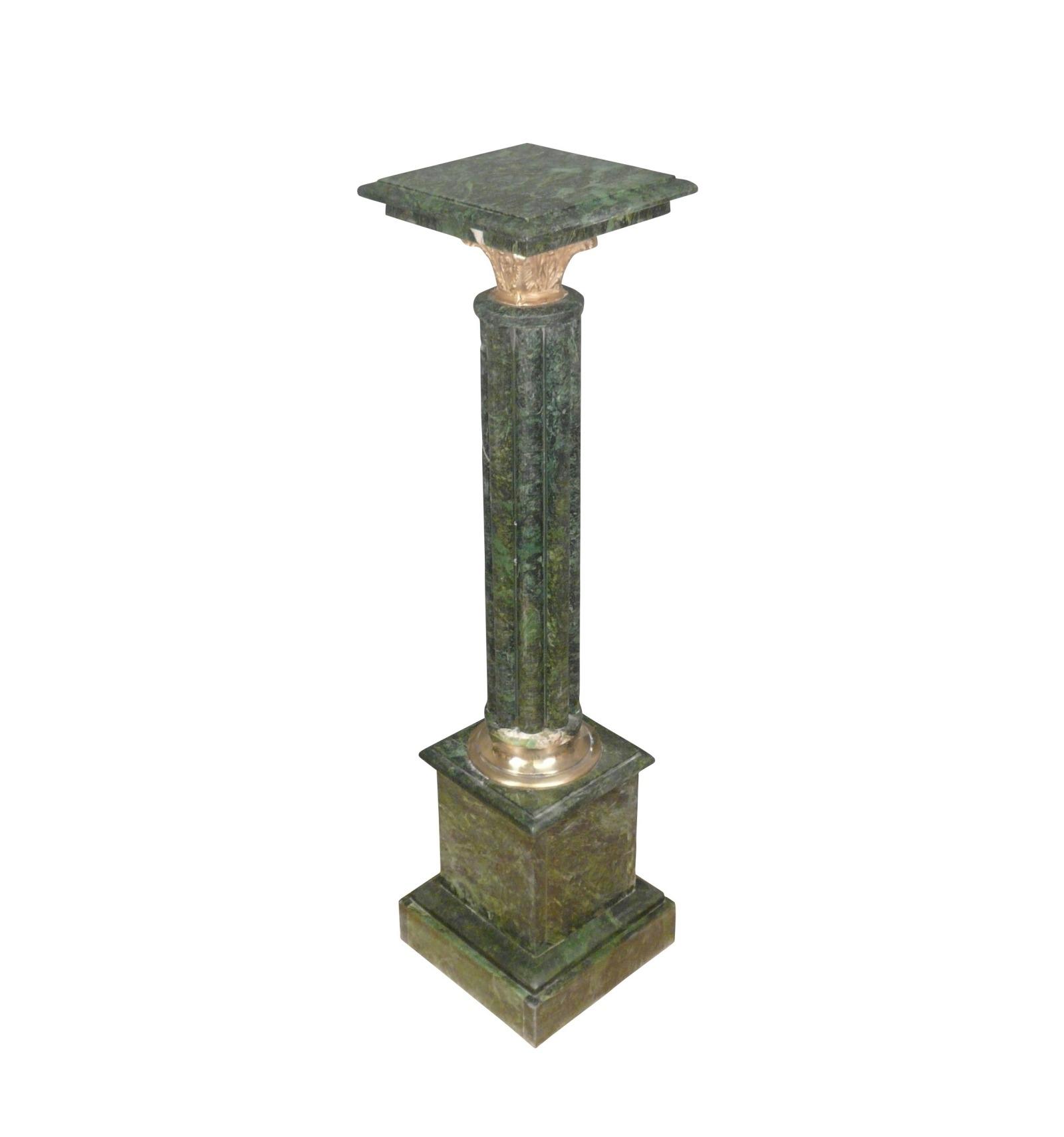 Columna de m rmol verde napole n iii - Columna de marmol ...