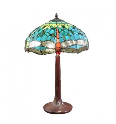 Lámpara Montpellier Tiffany - Lámparas de estilo Tiffany - Lamparas sobremesa tiffany