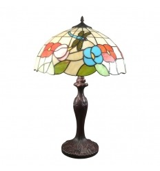 Grande lampe Tiffany Nice - Lampes style Tiffany