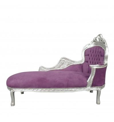 Lila barokk hosszúság - Chaise barokk