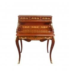 Scrivania a cilindro in stile Louis XV
