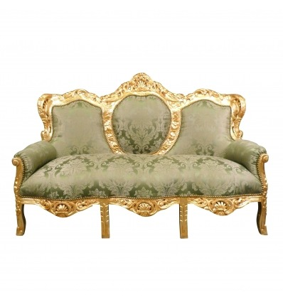 Baroque green sofa - Baroque sofa