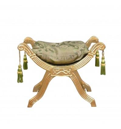 Green baroque bench - Baroque bench -