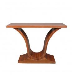Console in stile art deco in legno di palissandro