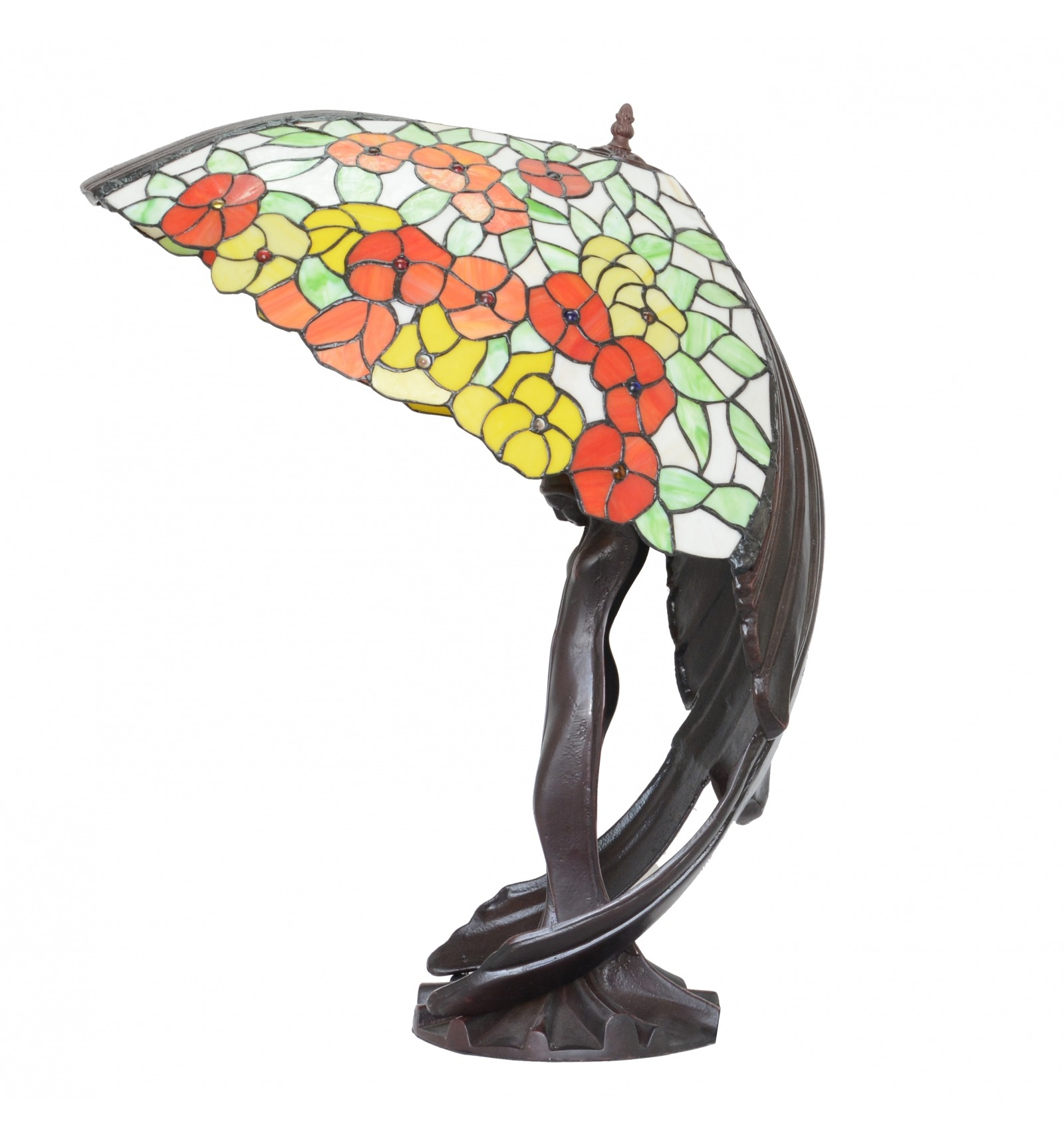 Lampe Fliegende Dame Tiffany Replik Des Originals Art Deco Lampe