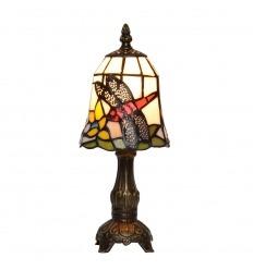 Lámpara de mesa libélulas Tiffany