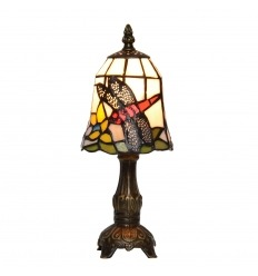 Tiffany Tafellamp lamp libelle leg