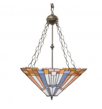 Lustre Tiffany art déco New York - Luminaires Tiffany -