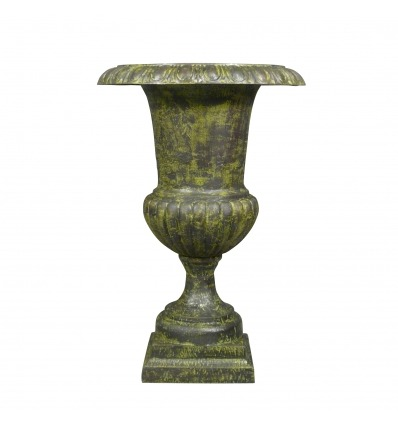 Medici vase in green cast iron - H: 96 cm - Medici Vases -
