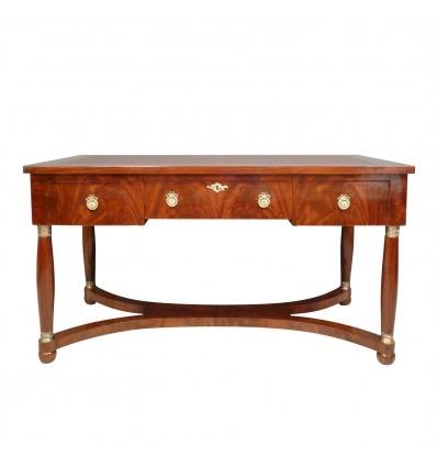 Empire Mahagoni Schreibtisch - Stilmöbel