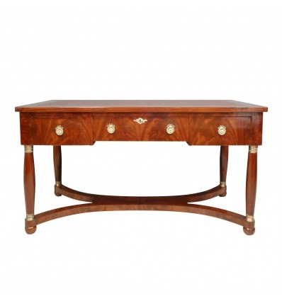Empire Mahogany Desk - Style Furniture