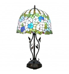 Lamp Tiffany type Wistéria