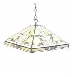 Lámpara de techo Tiffany art deco
