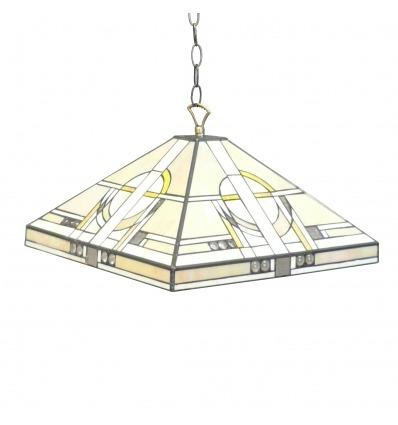 Tiffany araña art deco - Lámparas y muebles -