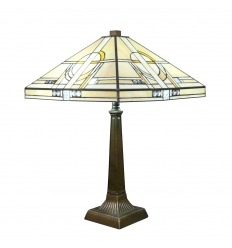 Tiffany Art Deco Lampe