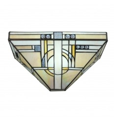 Wandleuchte Tiffany art deco