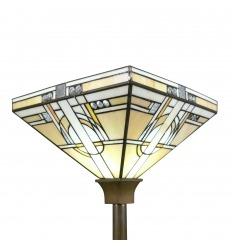 Floor lamp Tiffany art deco flare