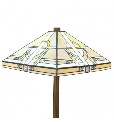 Gulvlampe Tiffany art deco-med sconces, lysekroner og lamper på lager