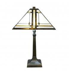 Tiffany Art Deco lamppu
