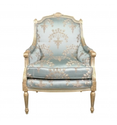 Bergère Louis XVI Blue