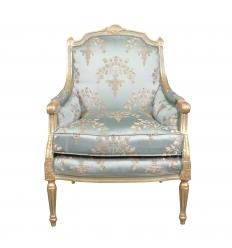 Bergère Louis XVI kék