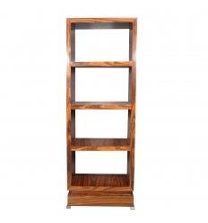 Rosewood art deco shelf