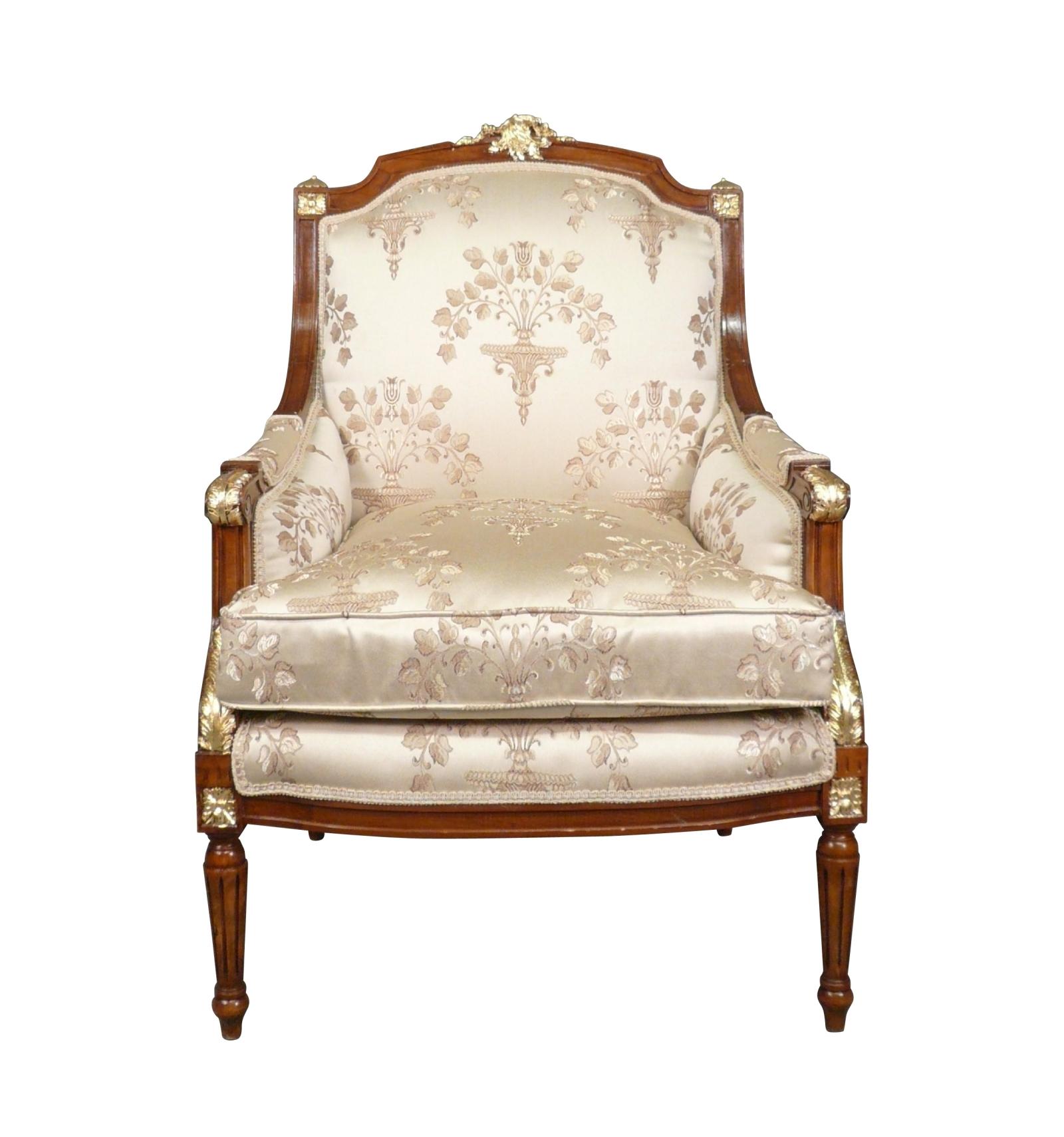 Poltrona Luigi XVI in - Luigi XVI sedia - sedia in legno ...